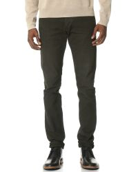 Rag & Bone | Green Standard Issue Fit 2 Canvas Jeans for Men | Lyst