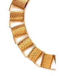 Forever 21 - Metallic Hammered Link Collar - Lyst