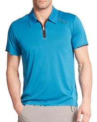 Porsche Design Blue Drivers Polo Shirt for men