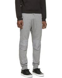 DIESEL - Gray Grey P_jagger Lounge Pants for Men - Lyst