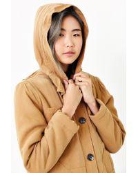 Obey Brown Fairfield Fleece-lined Hooded Jacket