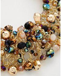 ALDO - Multicolor Harmonie Bead Cluster Collar Necklace - Lyst