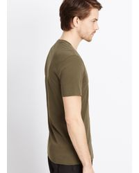 Vince Green Favorite Heathered Jersey V-neck Tee for men