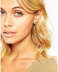 ASOS | Metallic Multipack Star Stud Earrings | Lyst