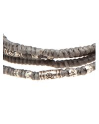 M. Cohen | Gray Yak Bone Bracelet for Men | Lyst