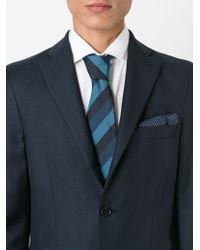 Paul Smith Green Striped Tie for men