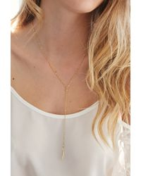 Forever 21 - Metallic Katie Dean Guinevere Necklace - Lyst