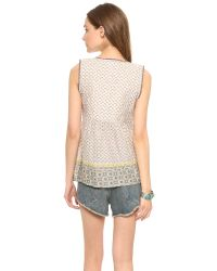 House of Harlow 1960 - Multicolor Noa Top Border Print - Lyst