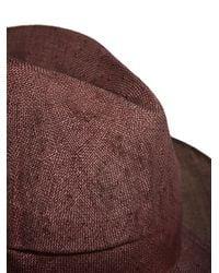Reinhard Plank - Pink New Season - Mens Cobo Straw Hat for Men - Lyst