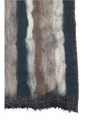 Franco Ferrari - Multicolor Stripe Cashmere-wool Scarf - Lyst