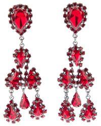 Marina Fossati | Red Jewel Drop Earrings | Lyst