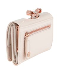 Ted Baker Pink Temmey Small Bow Purse