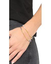 Gorjana - Blue Power Gemstone Bracelet For Courage - Lyst