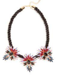 BaubleBar | Black Mohawk Collar | Lyst