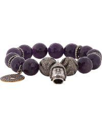 Carole Shashona | Black Goddess Bracelet | Lyst