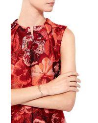 Joelle Jewellery - 18K Pink Gold Lace Crown Bangle - Lyst