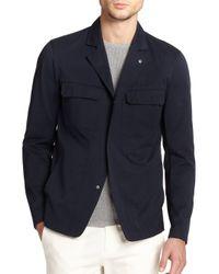 Theory | Blue Sango Four-Pocket Jacket | Lyst