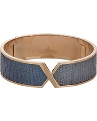 Valextra | Metallic Hinged Bangle | Lyst