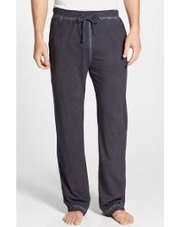 Daniel Buchler | Blue Powder Wash Peruvian Pima Cotton Lounge Pants for Men | Lyst