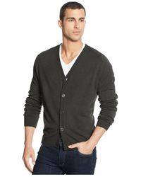 Weatherproof | Green Vintage Soft Touch Cardigan Sweater for Men | Lyst
