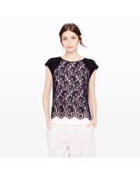 Club Monaco - Pink Nealy Lace Top - Lyst