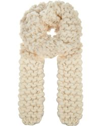 Wool And The Gang | Natural Yummy Scarf Knitting Kit | Lyst