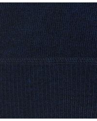 Nudie Jeans Blue Dag Fine Wool Knit for men