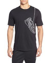 Nike   Blue 'winterize' Graphic Crewneck T-shirt for Men   Lyst