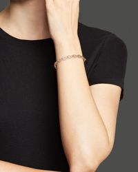 Roberto Coin | Pink 18k Rose Gold New Barocco Diamond Bangle | Lyst
