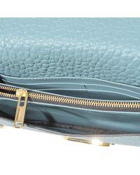 Burberry Blue Ls Madison Mini Bag
