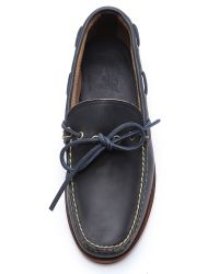 Eastland Blue Yarmouth Usa Camp Moccasins for men