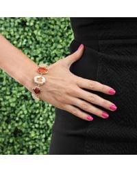 Lucifer Vir Honestus | Pink Fire Opal And Rainbow Moonstone Bracelet | Lyst