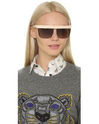 KENZO | Natural Top Rim Sunglasses | Lyst