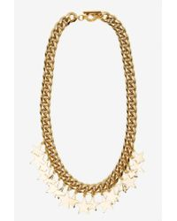 Nasty Gal | Metallic Star-Crossed Chain Necklace | Lyst