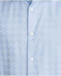 Zara | Blue Printed Shirt for Men | Lyst