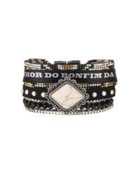 Hipanema - Black Bracelet - Lyst