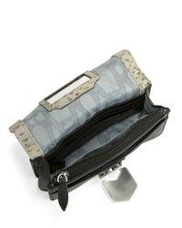 Aimee Kestenberg   Gray Leah Convertible Leather Crossbody   Lyst