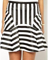 Three Floor - Brown Rebel Skirt - Lyst