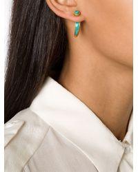 Pamela Love | Blue 'inlay Horn' Earrings | Lyst