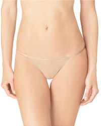 Calvin Klein | Natural String Bikini Brief | Lyst