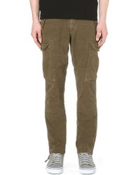 Ralph Lauren - Green Straightfit Cargo Trousers Rugby Olive for Men - Lyst