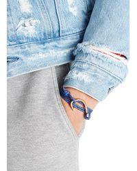 Miansai - Blue Rope Wrap Bracelet for Men - Lyst