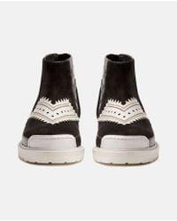 Xander Zhou Black Ankle Boot