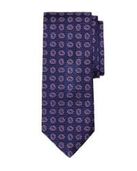 Brooks Brothers - Blue Pine Tie for Men - Lyst