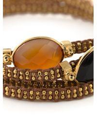 Gas Bijoux Metallic 'Fever' Multi-Strap Bracelet