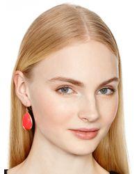kate spade new york - Pink Day Tripper Earrings - Lyst