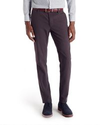 Ted Baker - Red Fairpor Mini Design Trousers for Men - Lyst