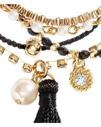 H&M   Black 4-Pack Bracelets   Lyst