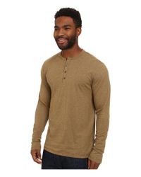 Patagonia | Natural L/s Daily Henley for Men | Lyst