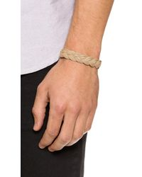 Miansai | Natural Nantucket Woven Rope Bracelet for Men | Lyst